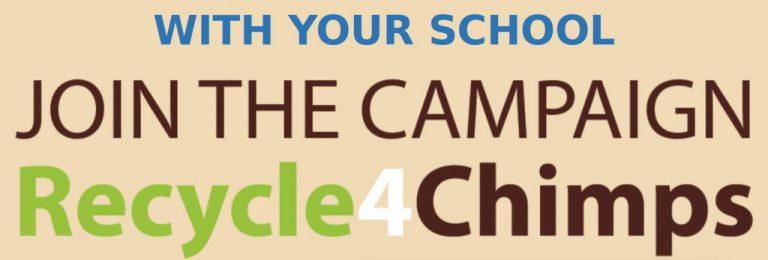 recycle4chimps school