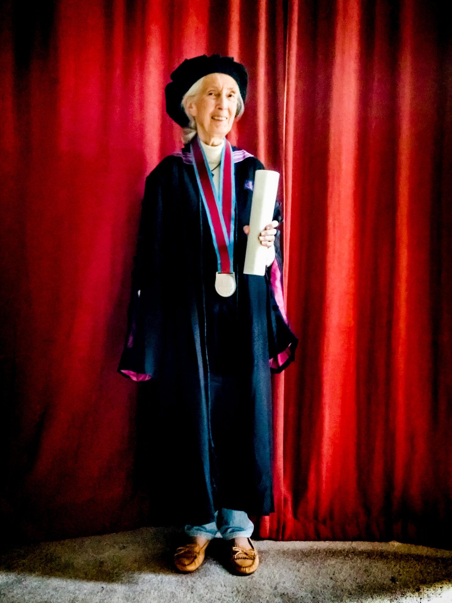 eredoctoraat Jane Goodall