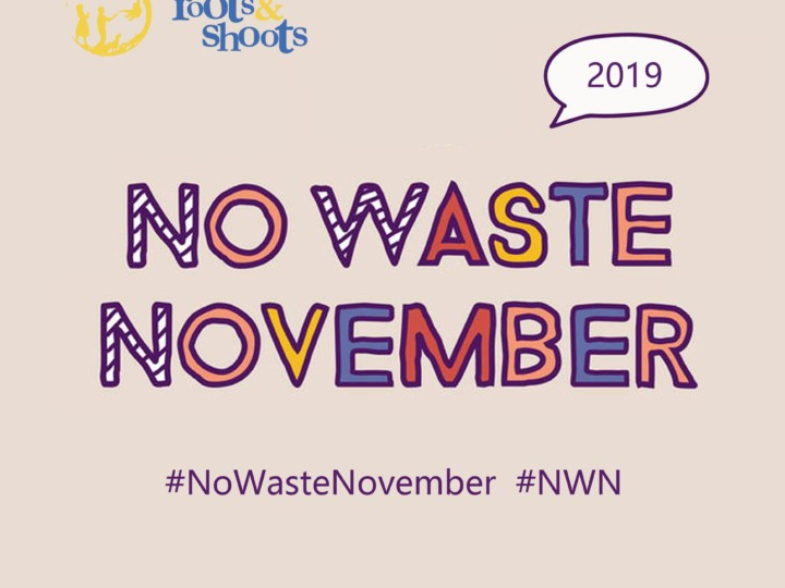 No Waste November: Join the movement!